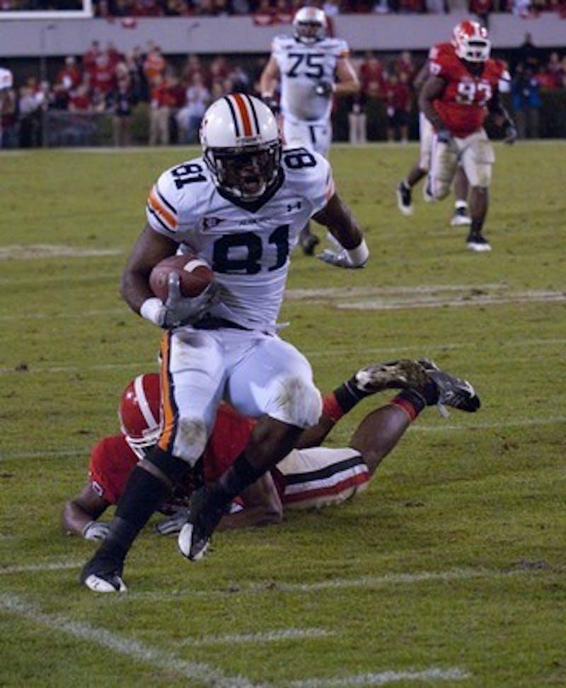 Georgia defeated Auburn 31-24 in Athens: Rod Guajardo/ Photo Editor