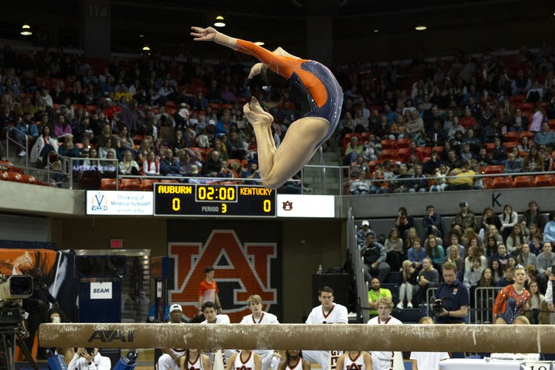 GALLERY: Auburn Gymnastics v. Kentucky | 2.7.2020