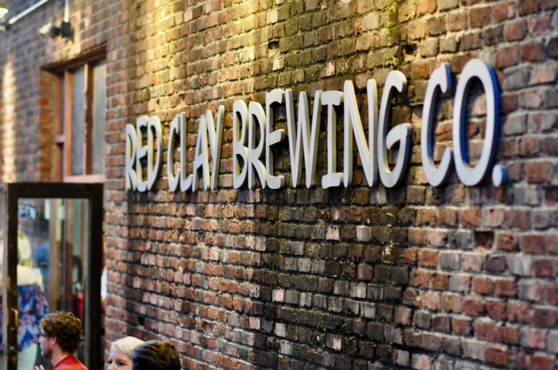 Red Clay Brewing Company during the Red Clay Oyster Fest on Tuesday, Sept. 18, 2018 in Auburn, Ala.