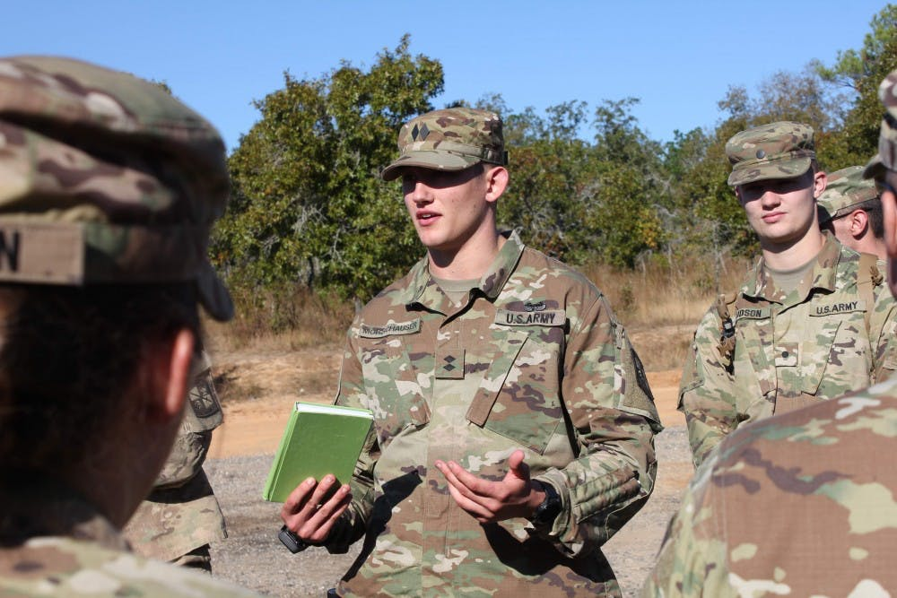 Auburn student finds passion in ROTC