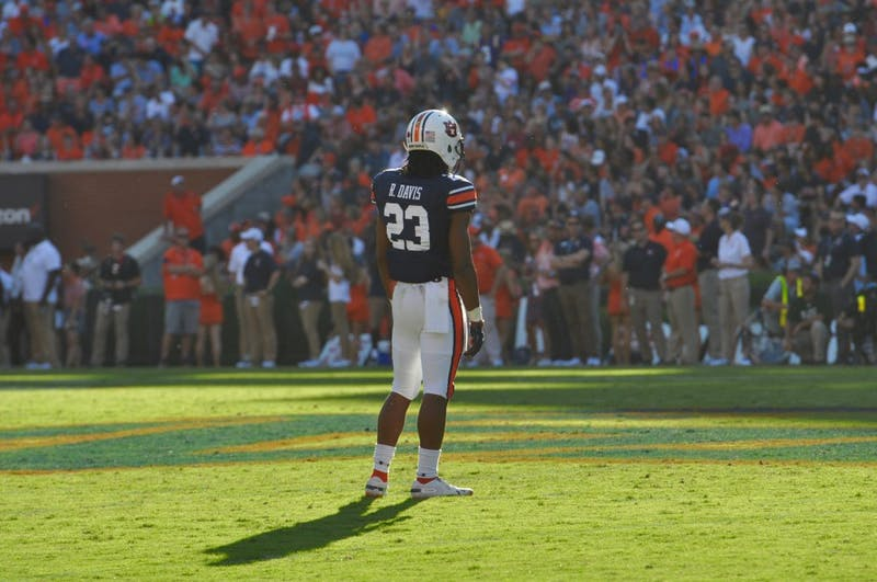 Ryan Davis (23) during Auburn Football vs. LSU on Saturday, Sept. 15, 2018 in Auburn, Ala.