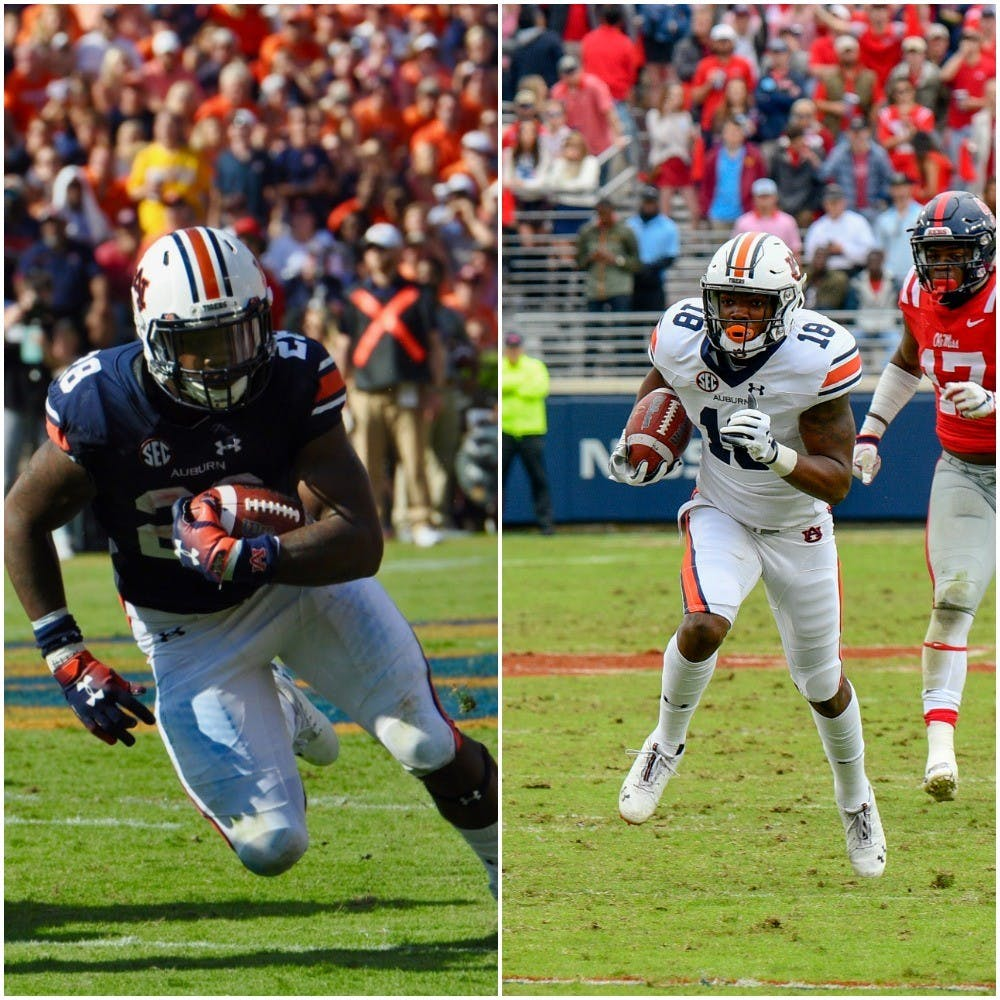 Auburn's JaTarvious Whitlow, Seth Williams named SEC All-Freshman