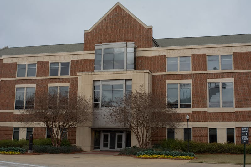 The Harrison School of Pharmacy on Auburn University's campus.