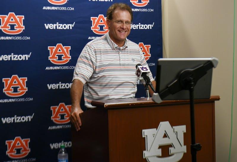 Auburn football Gus Malzahn presser on Monday, Aug. 17, 2020 in Auburn, Ala. Todd Van Emst/AU Athletics