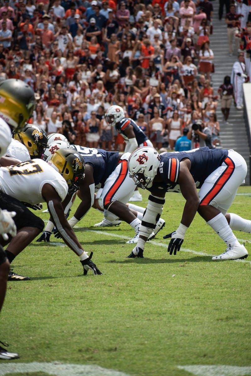 Auburn vs. Alabama State 9/11/21
