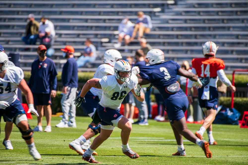 Harsin and Bobo look to bring the tight end position back to Auburn