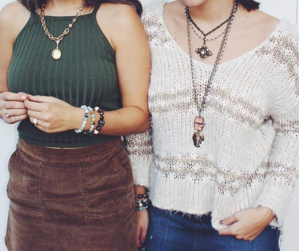 Student creates business using antique jewelry