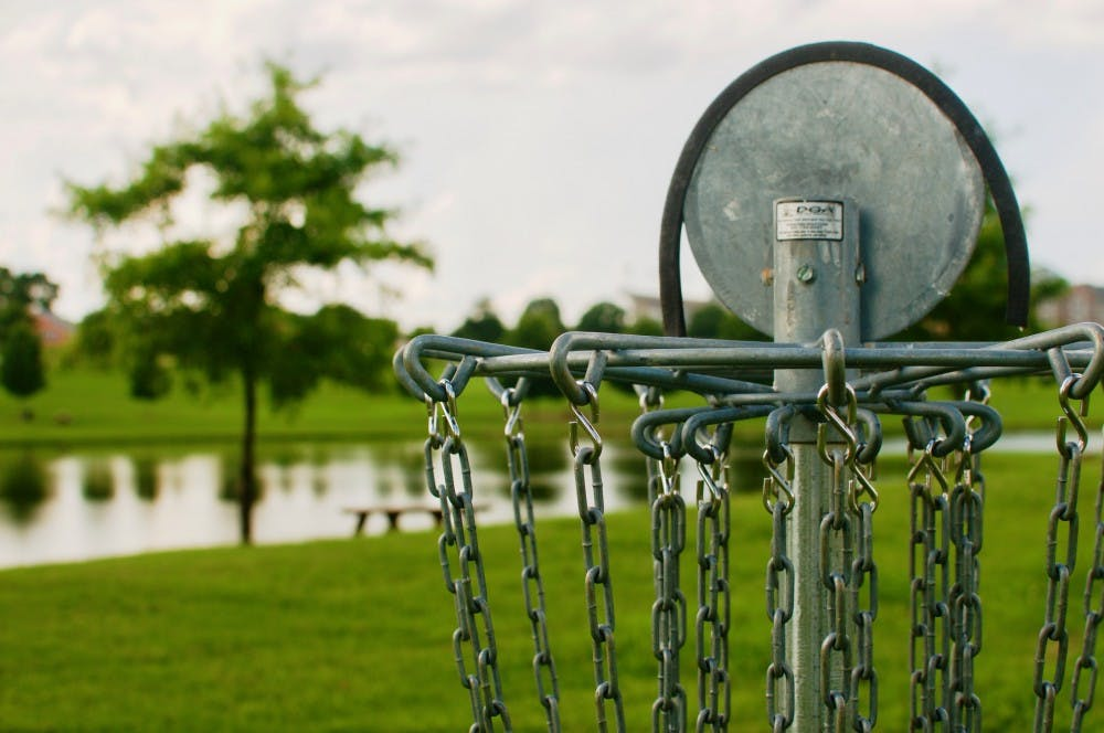 Disc golf: a growing sport in Lee County