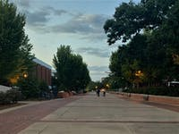 With Auburn's campus shut down for the rest of the semester, a few students make the decision to stay in town.
