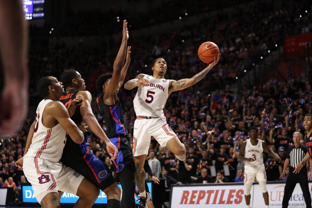 Auburn's offensive struggles continue in 69-47 loss at Florida