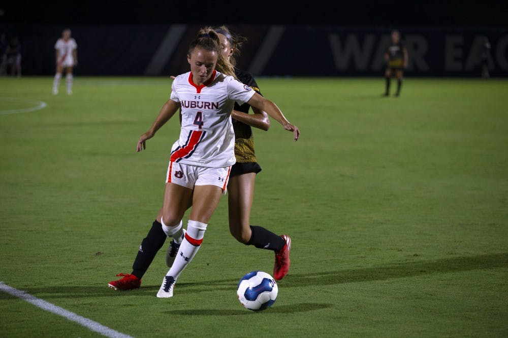 Former Tiger Bri Folds selected in National Women's Soccer League draft