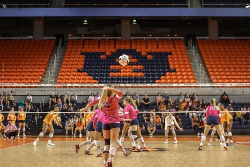 GALLERY: Auburn Volleyball vs. Tennessee | 10.6.19