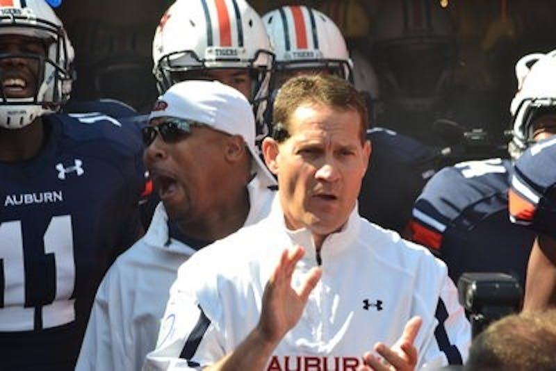 Auburn vs. Arkansas, Oct. 6, 2012