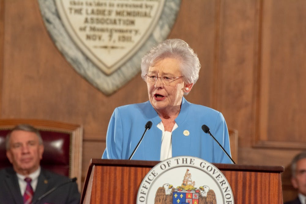 Gov. Kay Ivey apologizes for role in racist skit while at Auburn