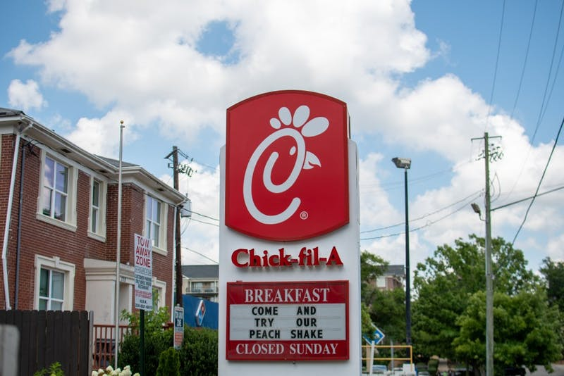 The Chick-fil-A on Magnolia Avenue, on Wednesday, June 19, 2019, in Auburn, Ala.