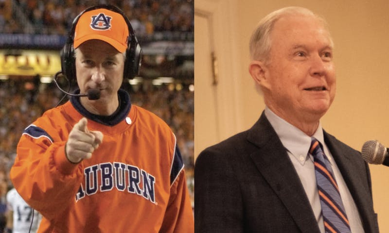 Tuberville and Sessions were in a tight race with seven competitors for the Senate seat.