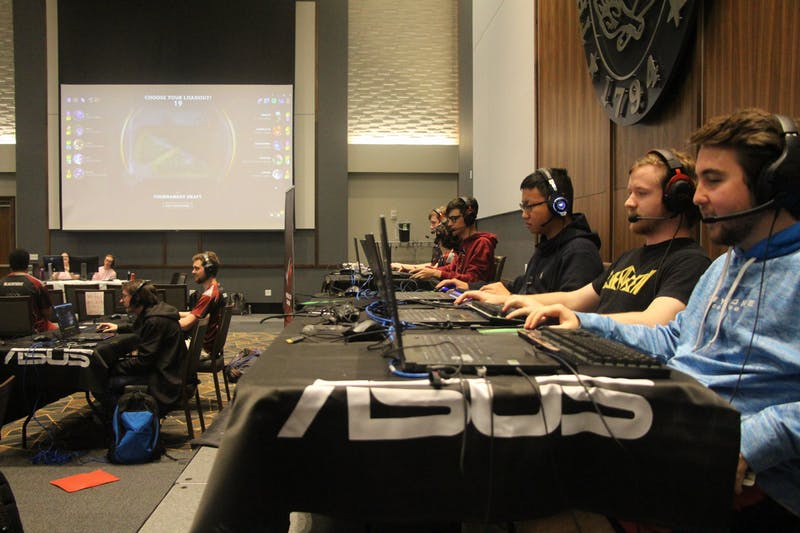 Photo contributed by Hank Link of Auburn Esports.