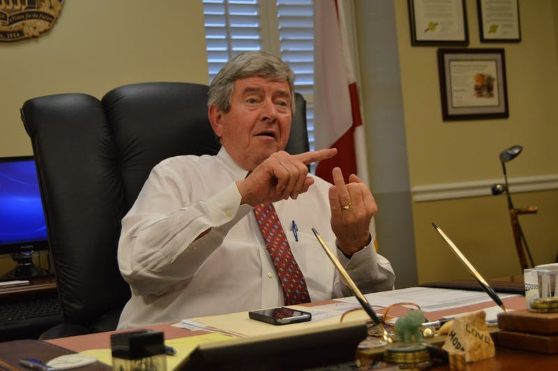 Opelika Mayor Gary Fuller is currently serving his fifth consecutive term.