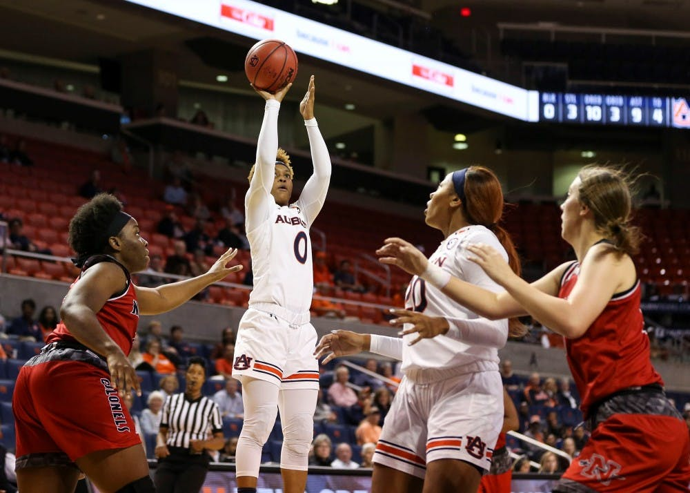 Auburn defeats Nicholls State to advance to second round of WNIT