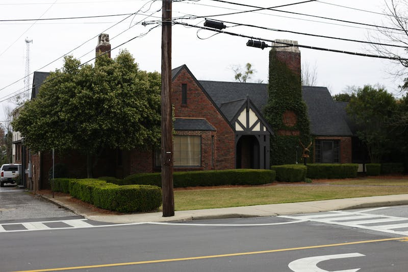 Auburn Candle Company is located at the old Pike fraternity house on North Gay Street in Auburn, Ala.