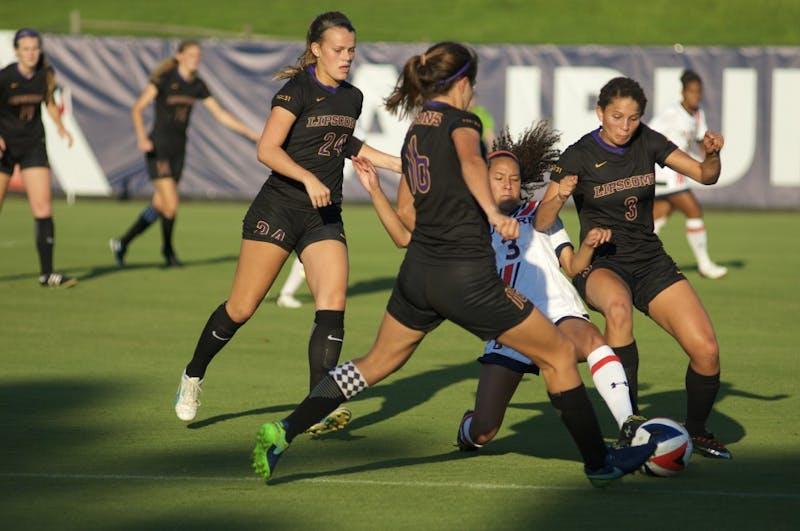 GALLERY: Auburn Soccer vs. Lipscomb | 8.20.17