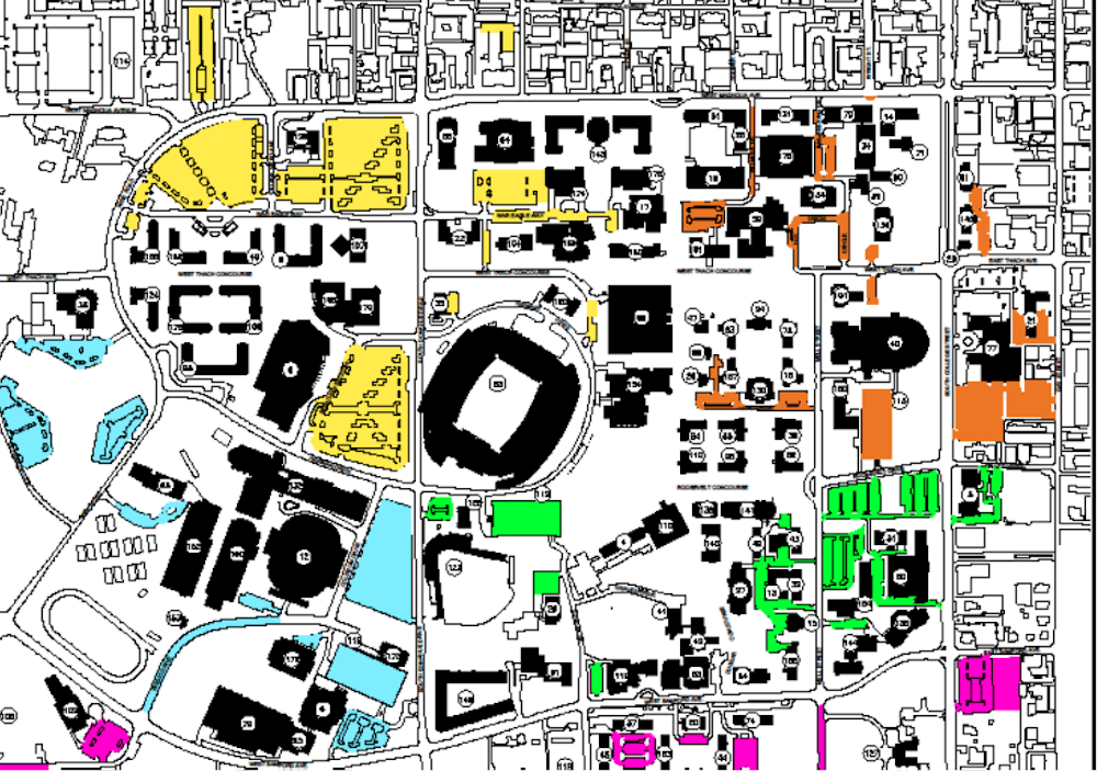 From zones to lots: Proposal underway to overhaul campus parking