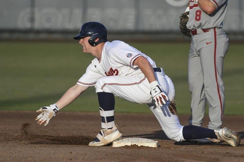 Rankin Woley (4). Auburn baseball vs Alabama on Friday, May 3, 2019, in Auburn, Ala.