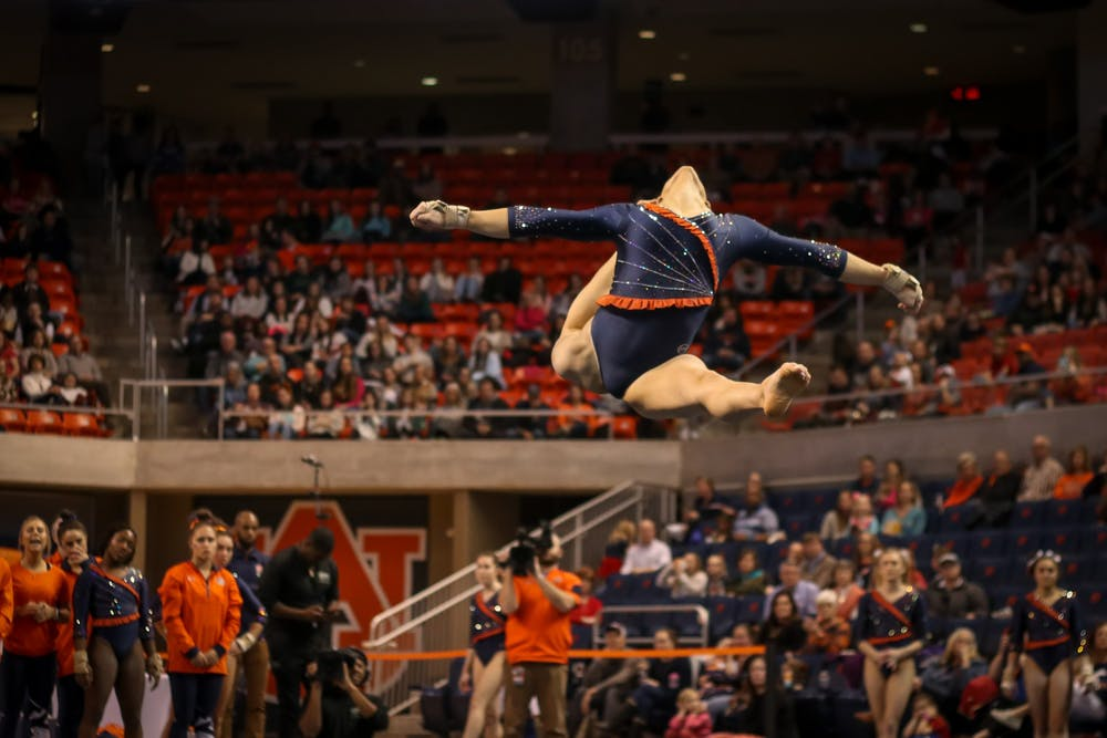 'Put everything in the past': Auburn looking ahead to penultimate SEC meet of season after subpar showing last Friday