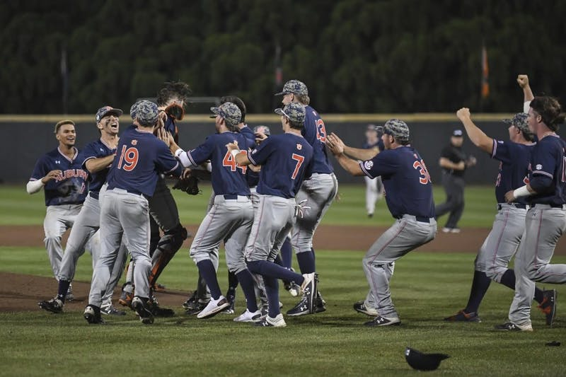 Auburn wins the Atlanta Regional on June 2, 2019, in Atlanta.