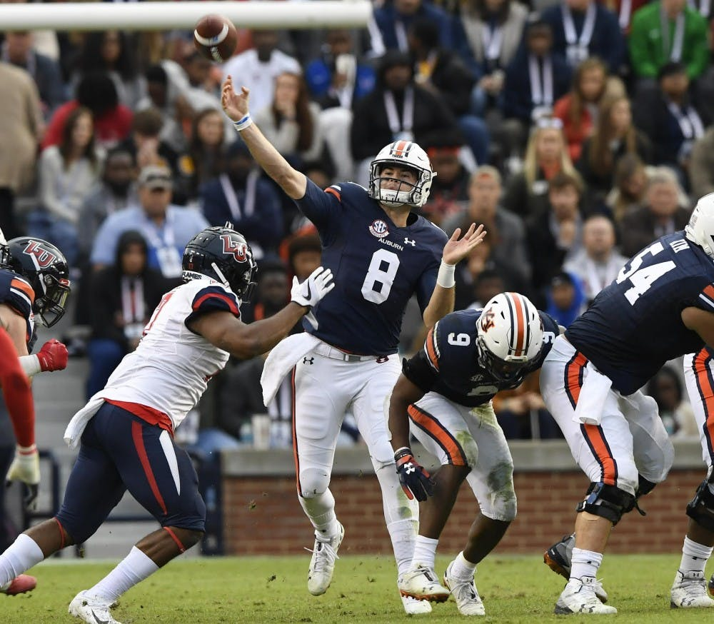 Auburn quarterback Jarrett Stidham accepts Senior Bowl invite