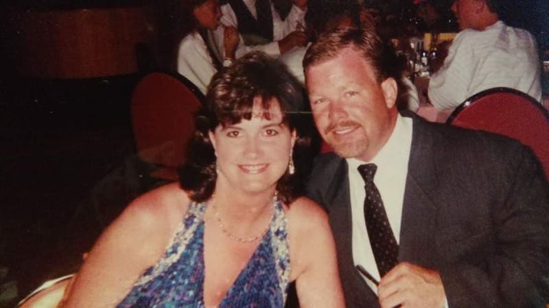 Debra Hudmon and her husband, James Hudmon.