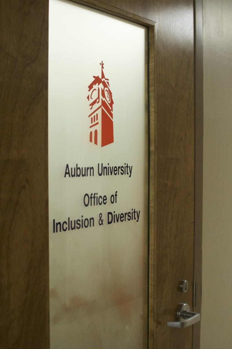 Auburn University Office of Inclusion & Diversity on Thursday, Sept. 28, 2017 in Auburn, Ala.
