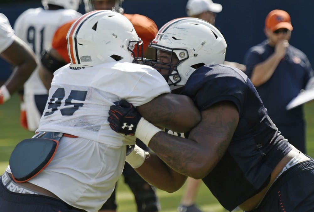 Fall camp notebook: Starting CB out, receiver limited, Horton back to guard