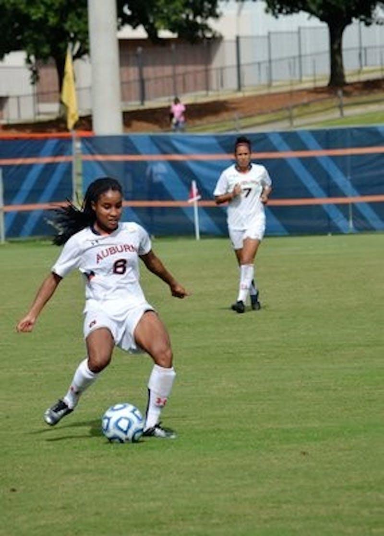 Women's Soccer Against Florida Sept. 16, 2012