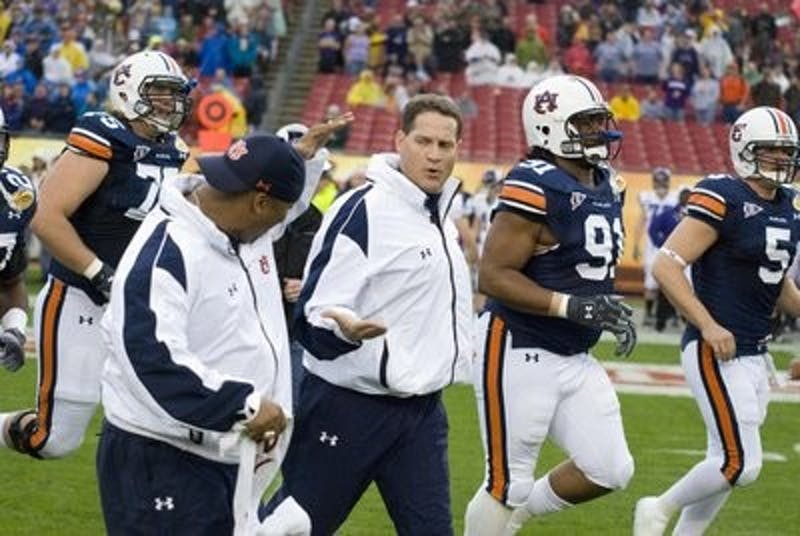 The Auburn Tigers defeated the Northwestern Wildcats 38-35.