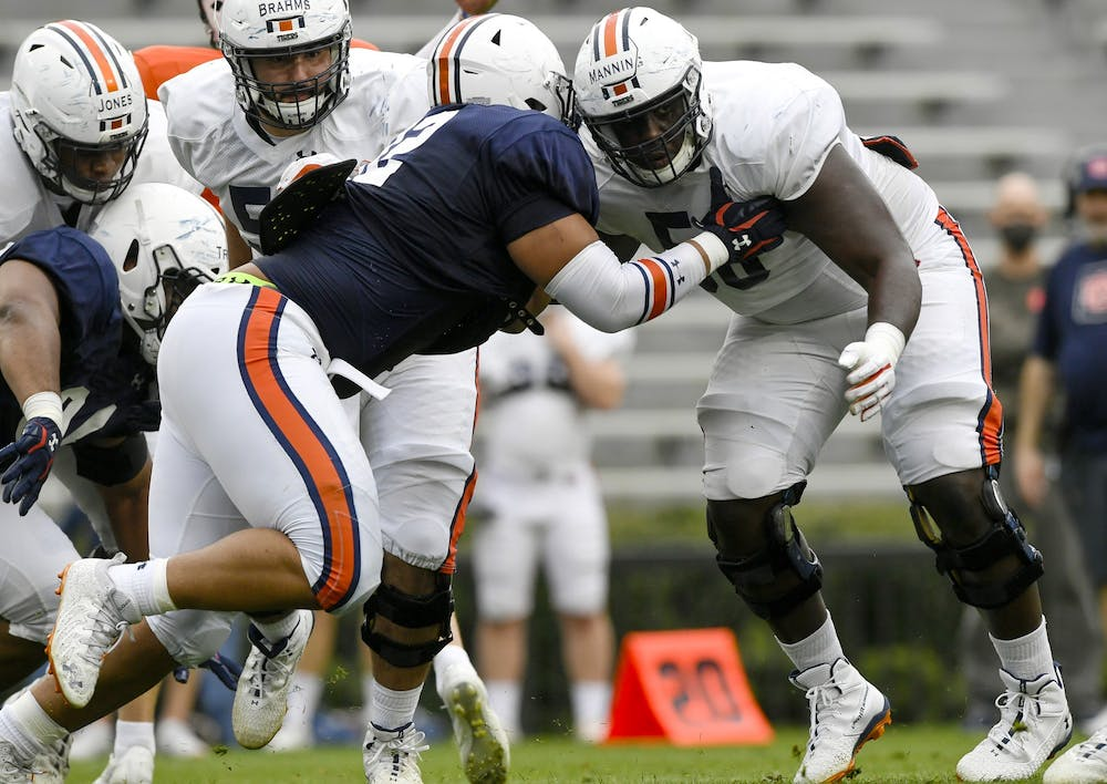 Experience is key for Tashawn Manning and Auburn offensive line