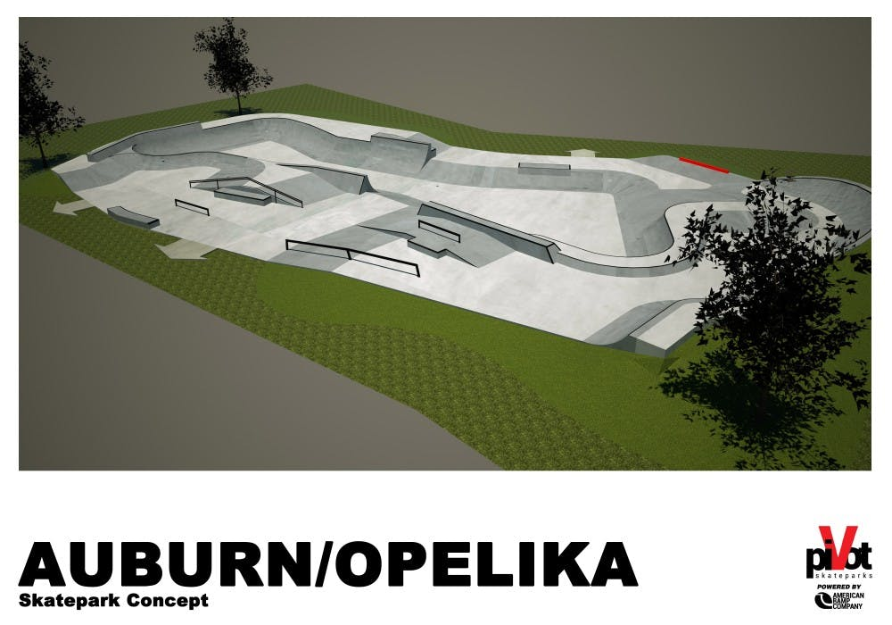 Future skatepark design to be determined by public vote
