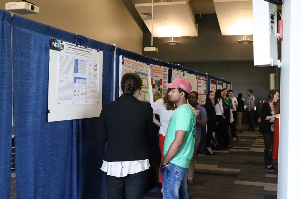 Nearly 600 students present research at symposium