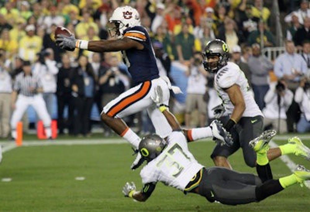 Kodi Burns named Auburn receivers coach