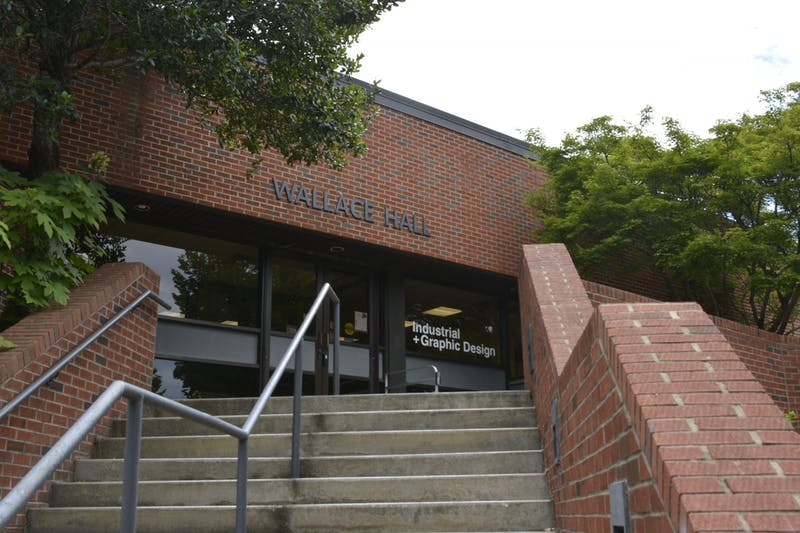 Wallace Hall on the Auburn University campus on June 4, 2020 in Auburn, Ala.