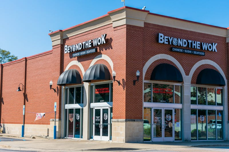Beyond the Wok in Auburn, Ala. on Oct. 18, 2020.