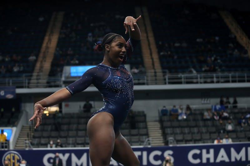 2021 SEC Gymnastics Championships - March 20, 2021 - Von Braun Center Propst Arena - Huntsville, Alabama