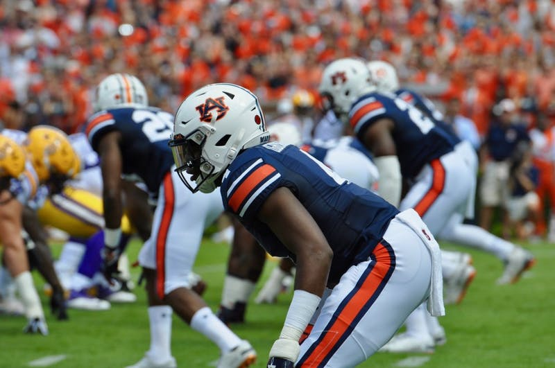 Noah Igbinoghene (4) during Auburn Football vs. LSU on Saturday, Sept. 15, 2018 in Auburn, Ala.