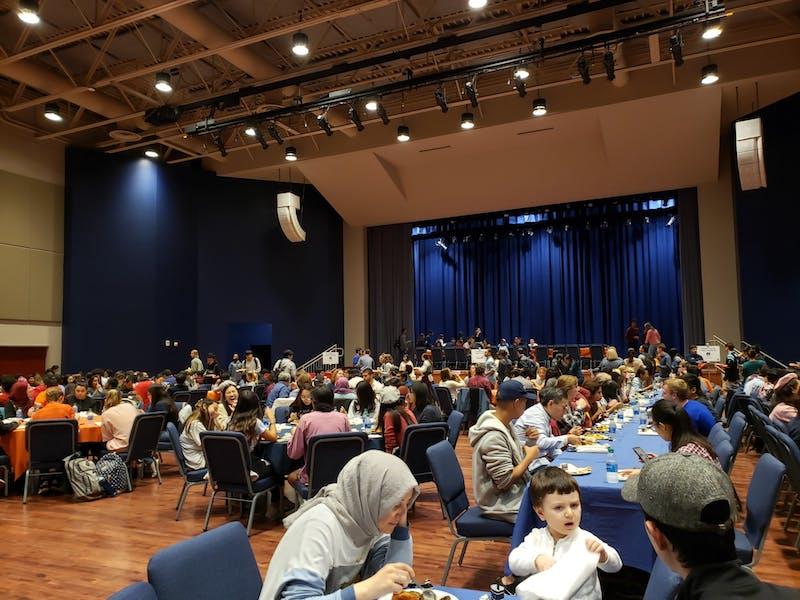 The International Peace Dinner hosted inside the Student Activities Center on Nov. 6, 2019 in Auburn, Ala.