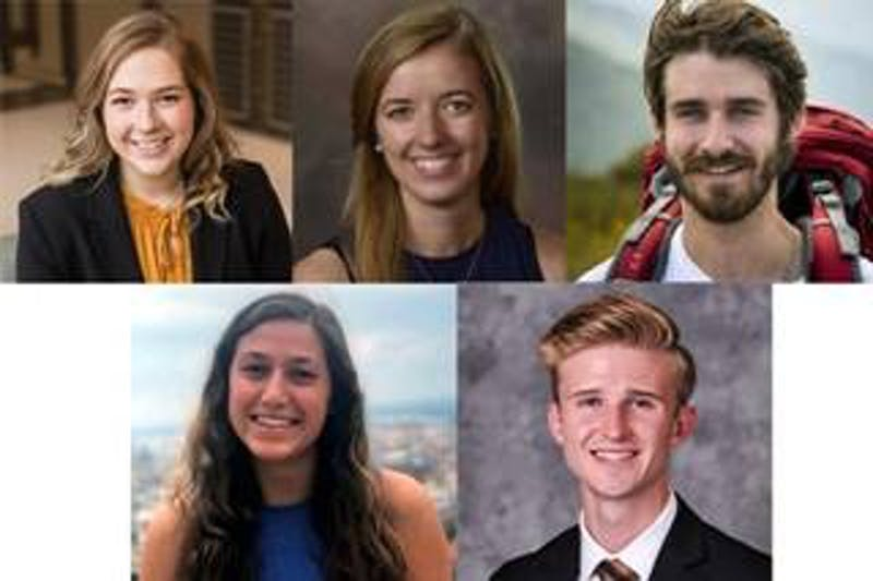 Five recent Auburn graduates were awarded Fullbright scholarships.