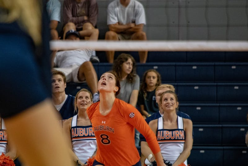 GALLERY: Auburn Volleyball vs. Michigan | 8.25.18