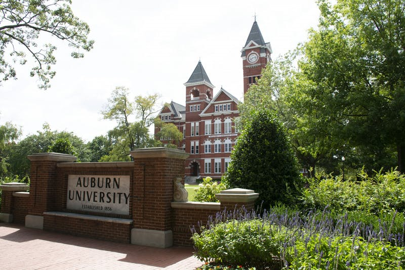 Samford Hall at Auburn University on Aug. 26, 2020, in Auburn, Ala.