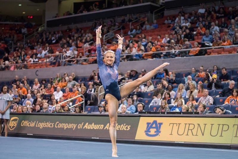 GALLERY: Auburn Gymnastics vs. Florida | 2.2.2018