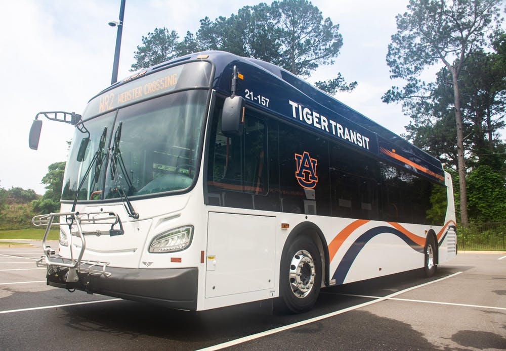 Auburn University officially welcomes new buses for the fall