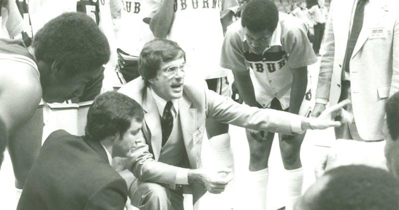 Former Auburn basketball coach Sonny Smith via Auburn Athletics.